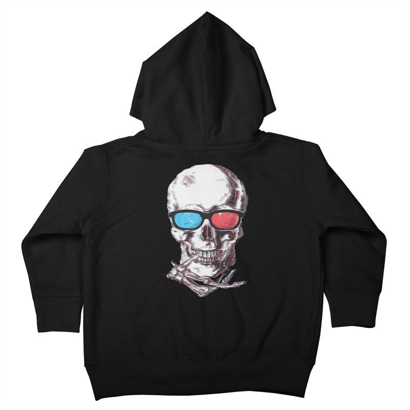 3 Death Kids Toddler Zip-Up Hoody by IAmRobman