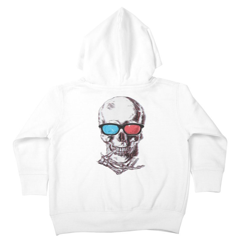 3 Death Kids Toddler Zip-Up Hoody by IAmRobman