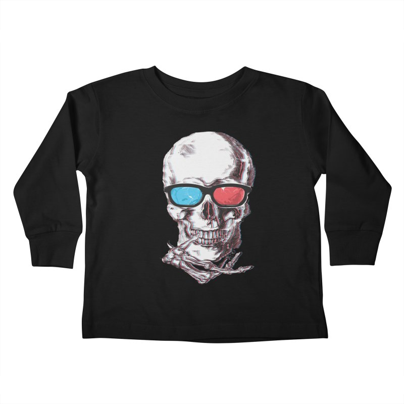 3 Death Kids Toddler Longsleeve T-Shirt by IAmRobman