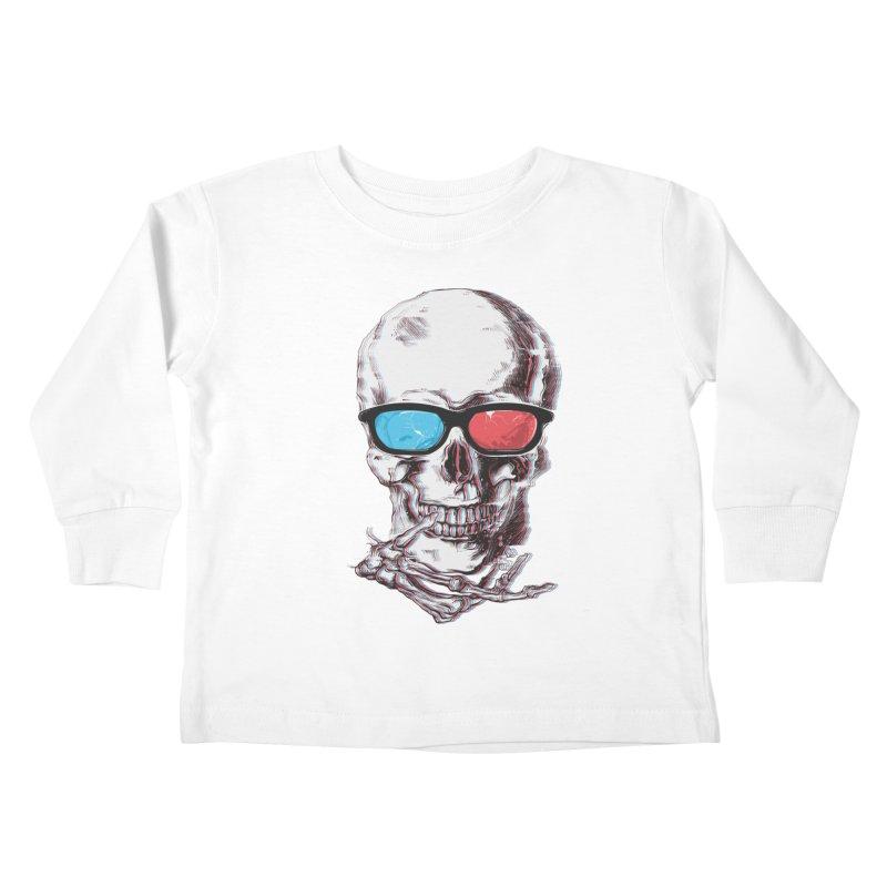 3 Death Kids Toddler Longsleeve T-Shirt by IAmRobman