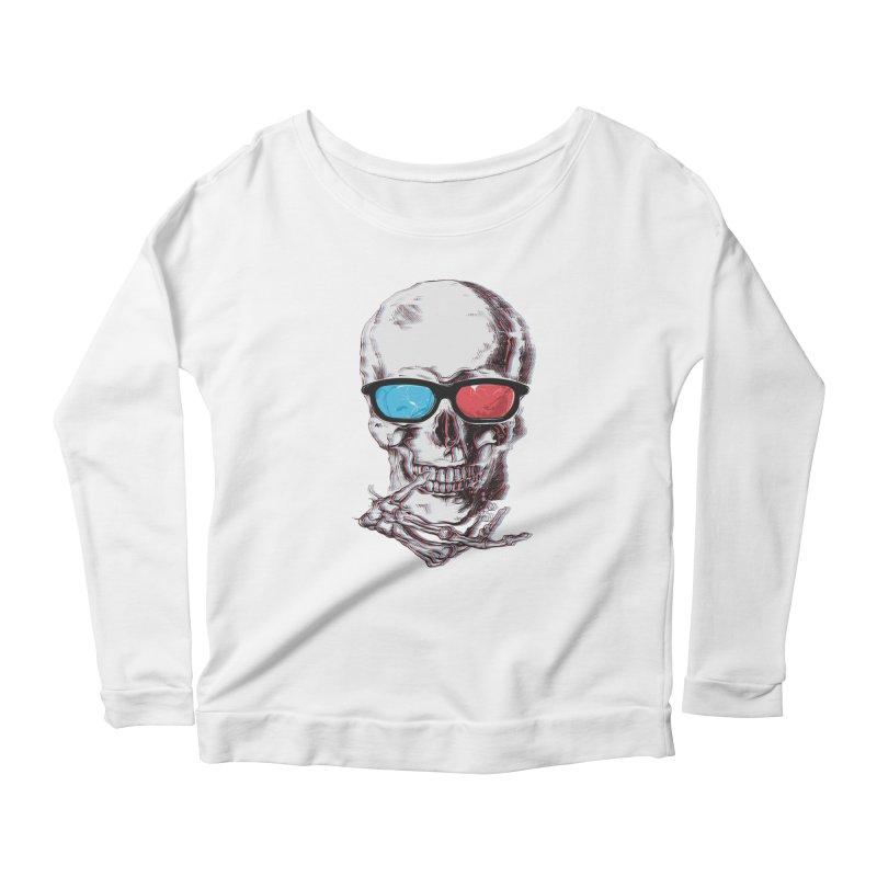 3 Death Women's Scoop Neck Longsleeve T-Shirt by IAmRobman
