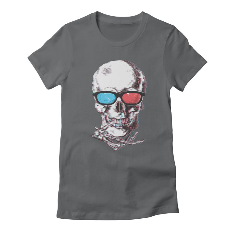 3 Death Women's Fitted T-Shirt by IAmRobman