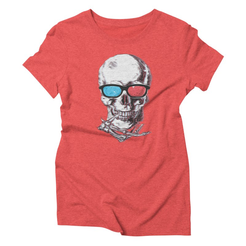 3 Death Women's Triblend T-Shirt by IAmRobman
