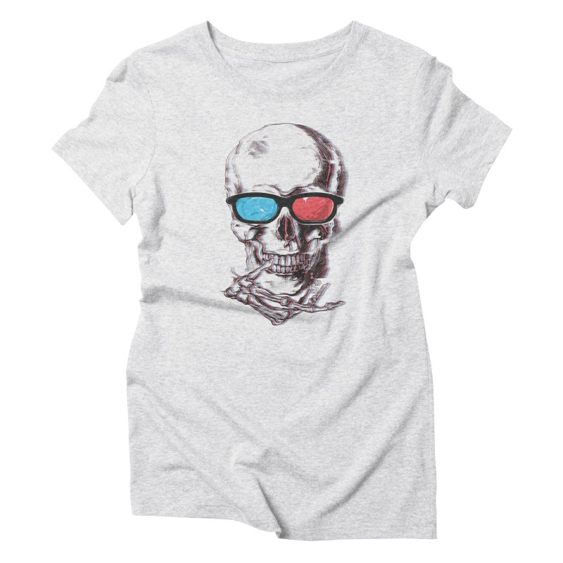 3 Death Women's Triblend T-Shirt by IAmRobman
