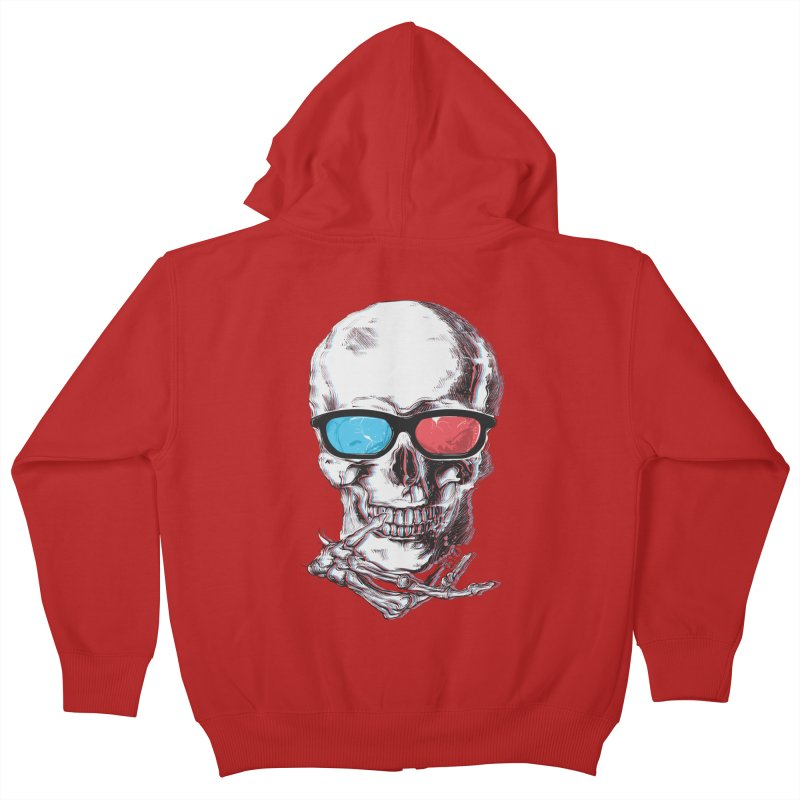 3 Death Kids Zip-Up Hoody by IAmRobman