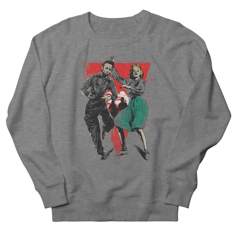 Dancing Zombies! Men's French Terry Sweatshirt by IAmRobman