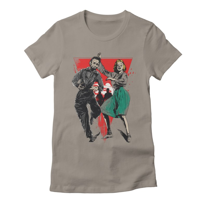 Dancing Zombies! Women's Fitted T-Shirt by IAmRobman