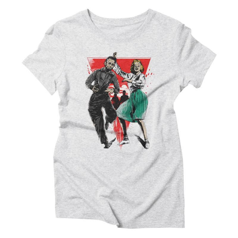 Dancing Zombies! Women's T-Shirt by IAmRobman