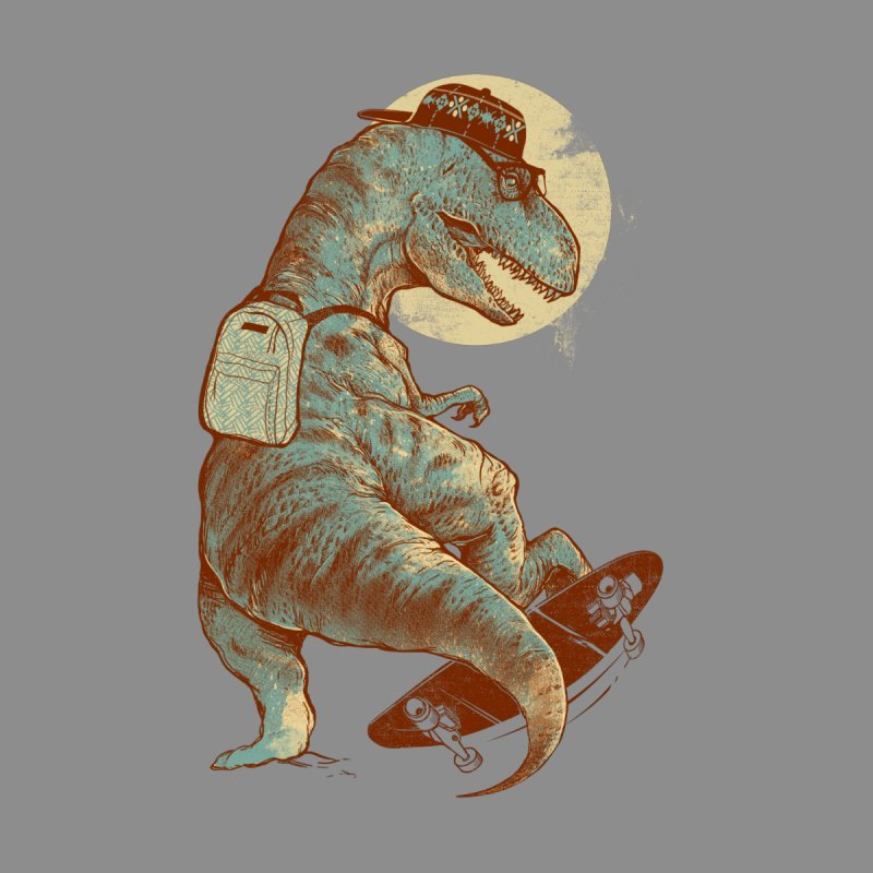 Hipster T-Rex None  by IAmRobman