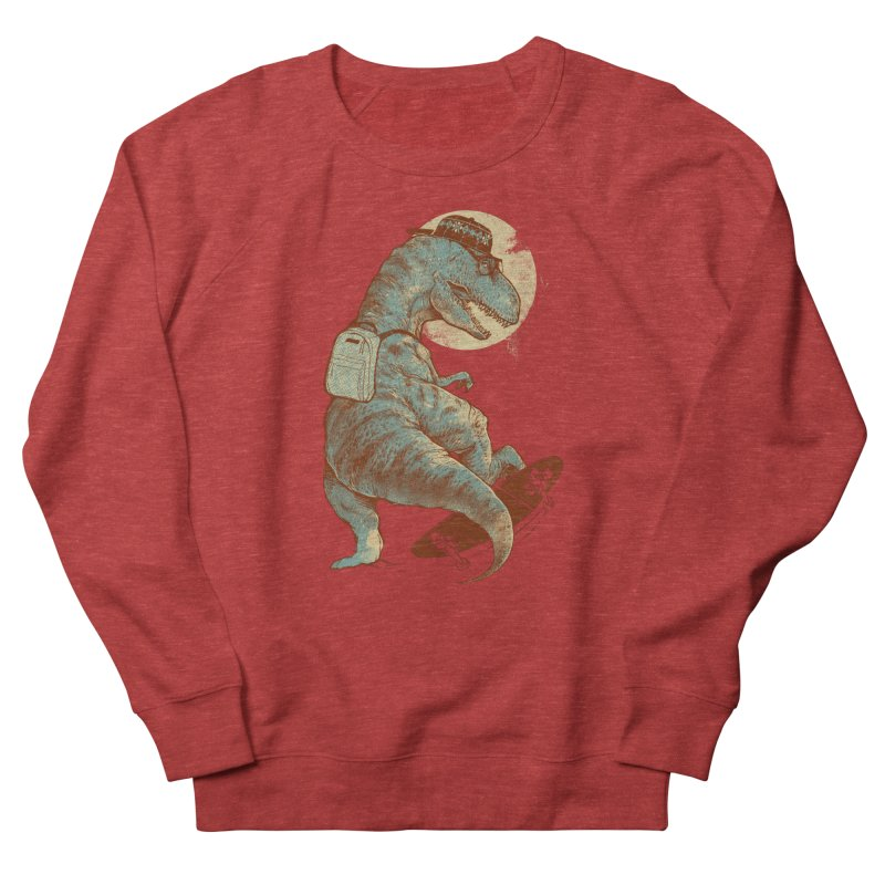 Hipster T-Rex Men's Sweatshirt by IAmRobman