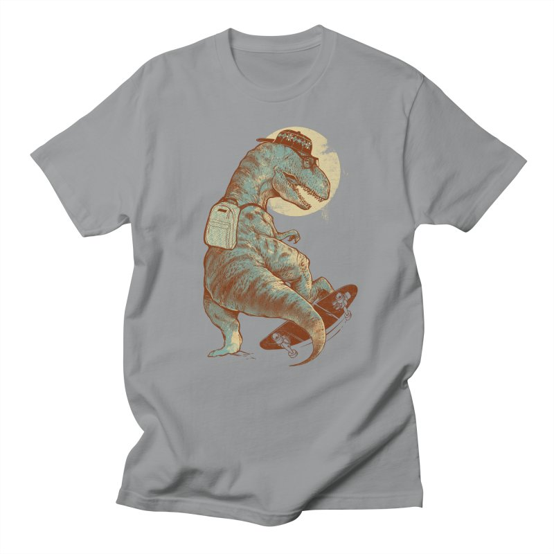 Hipster T-Rex Men's Regular T-Shirt by IAmRobman