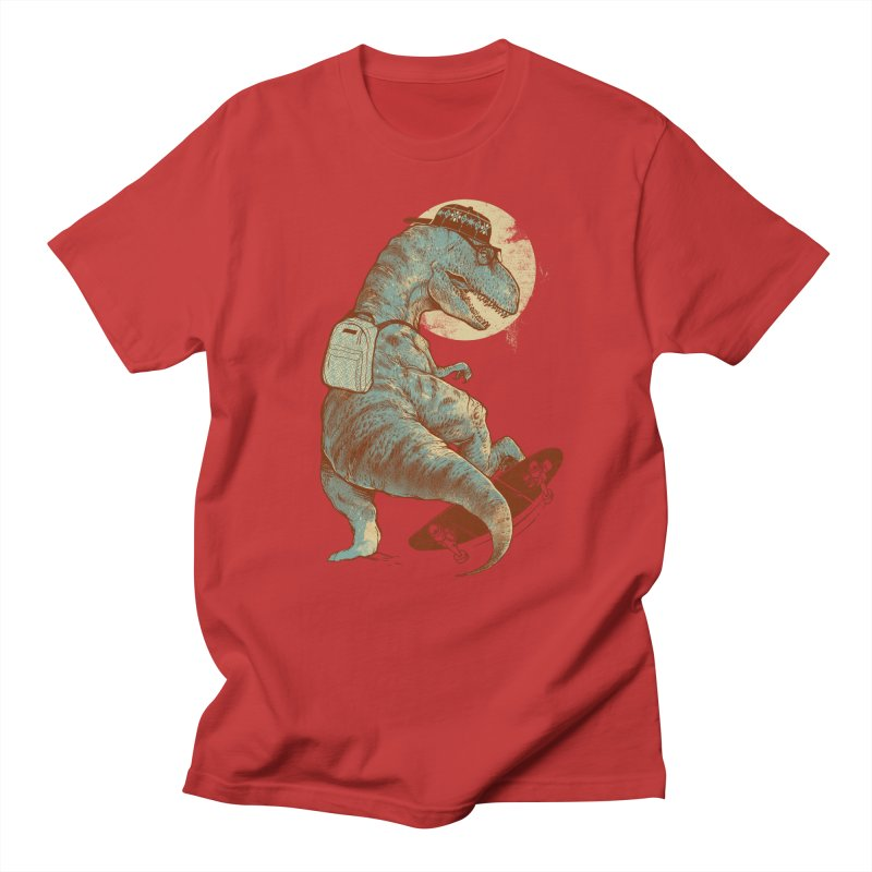Hipster T-Rex Men's T-Shirt by IAmRobman
