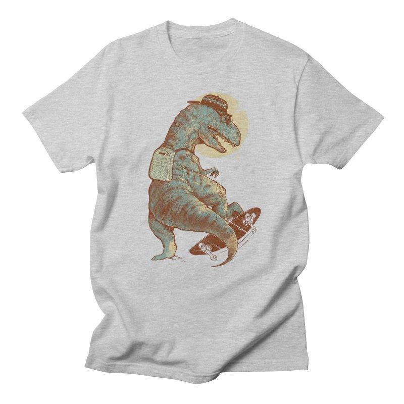 Hipster T-Rex Men's T-shirt by IAmRobman