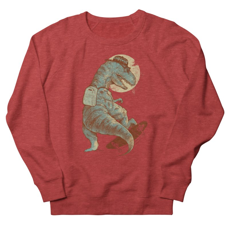 Hipster T-Rex Women's French Terry Sweatshirt by IAmRobman