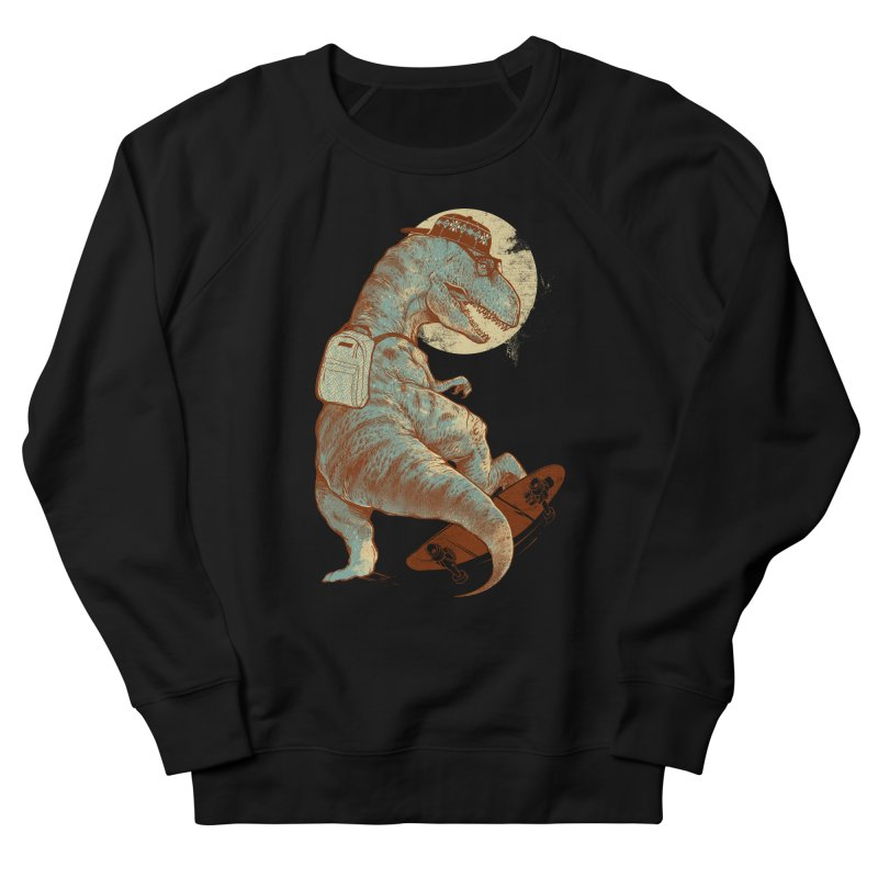 Hipster T-Rex Men's French Terry Sweatshirt by IAmRobman