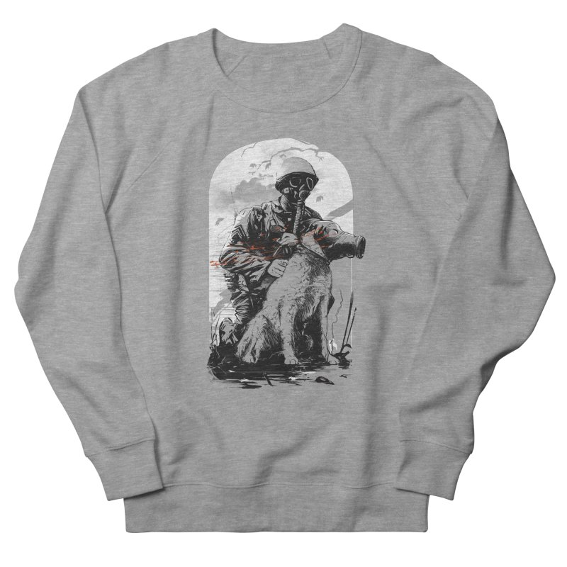 Dogs of War Men's French Terry Sweatshirt by IAmRobman