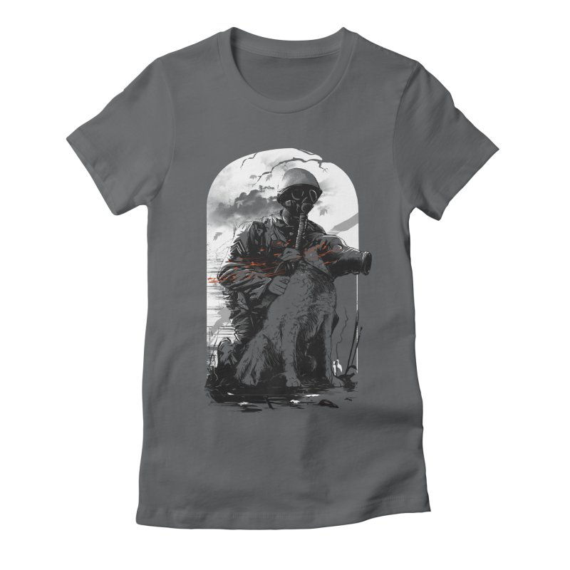 Dogs of War Women's Fitted T-Shirt by IAmRobman