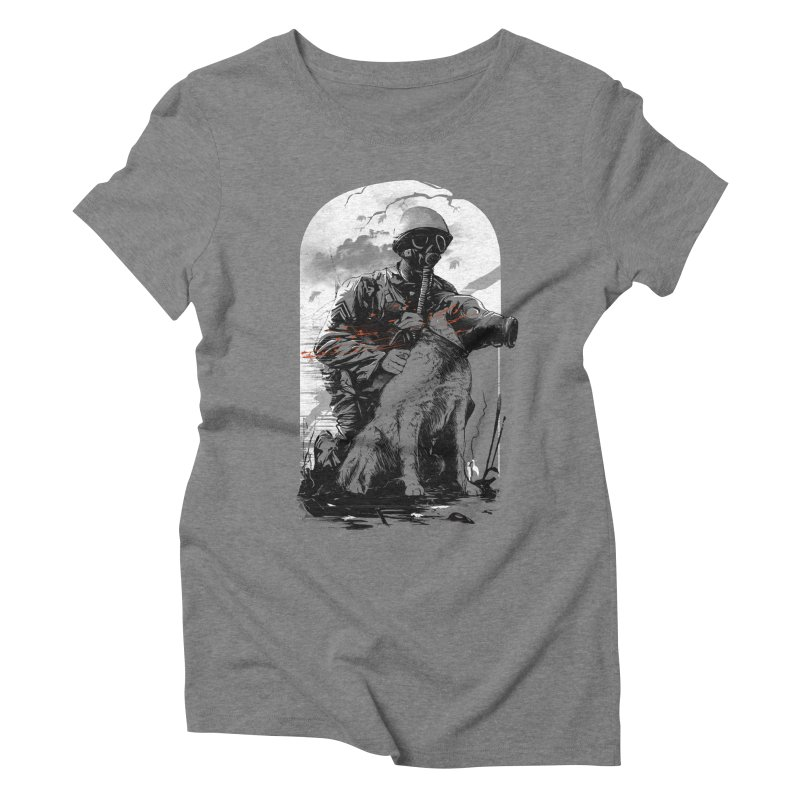 Dogs of War Women's Triblend T-Shirt by IAmRobman