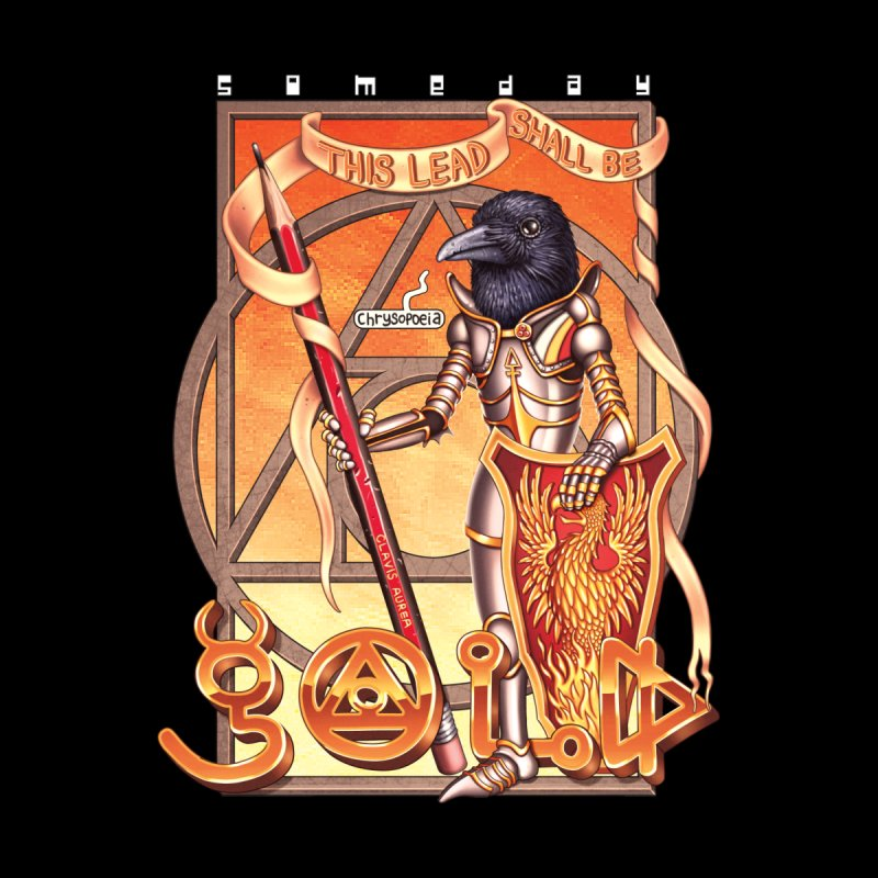 GOLD Men's T-Shirt by STEGOSAURUS