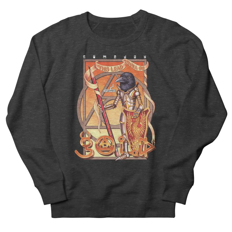 GOLD Women's Sweatshirt by STEGOSAURUS