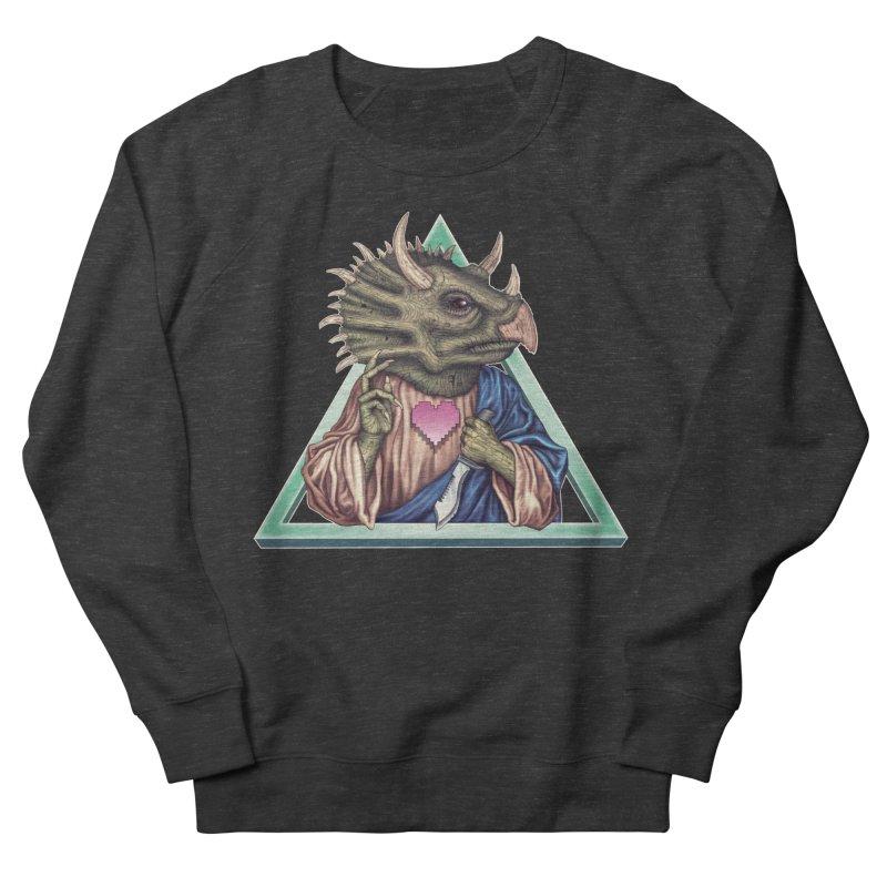 DINOSAVIOUR Women's Sweatshirt by STEGOSAURUS