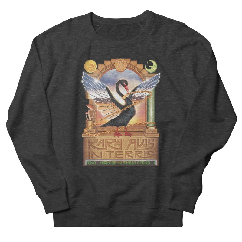 BLACK SWAN Women's Sweatshirt by STEGOSAURUS