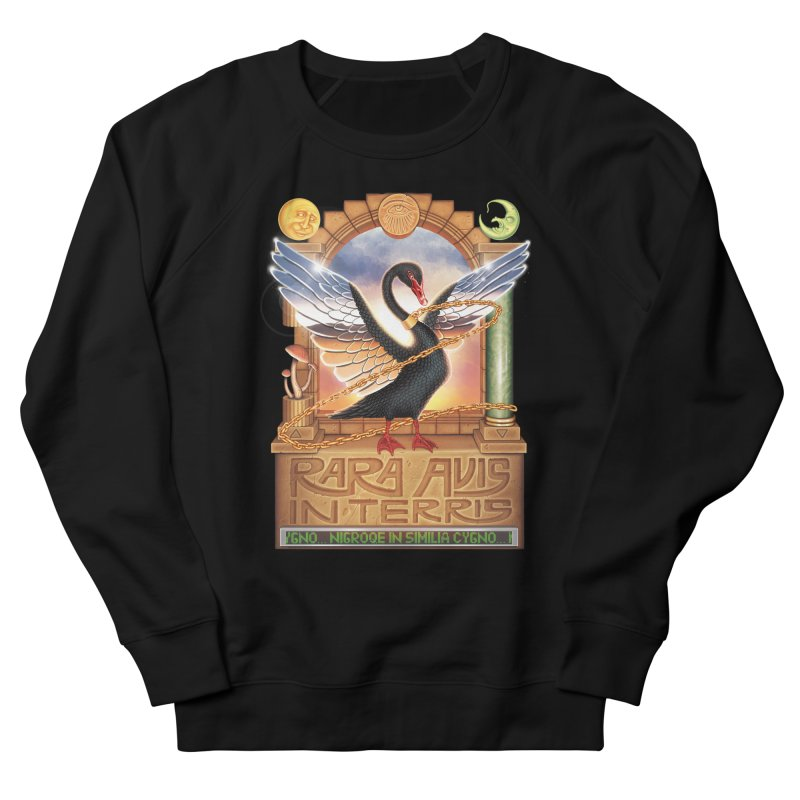 BLACK SWAN Men's Sweatshirt by STEGOSAURUS
