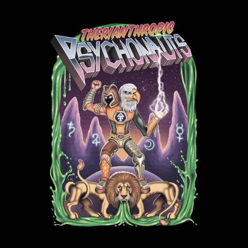 THERIANTHROPIC PSYCHONAUTS Women's T-Shirt by STEGOSAURUS