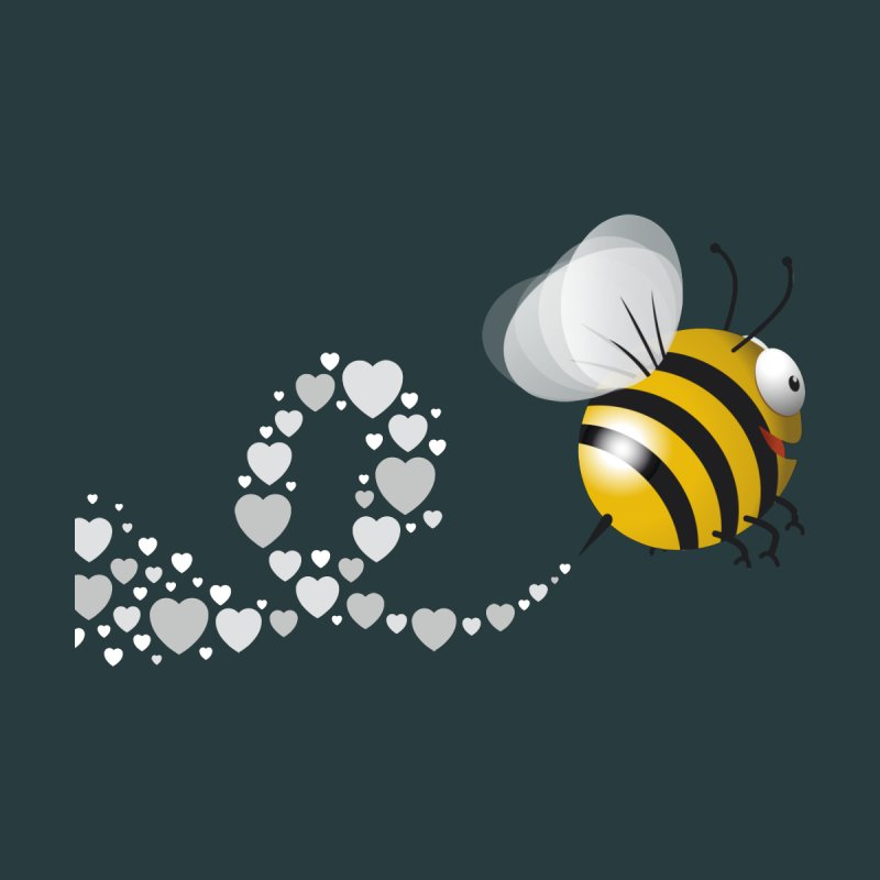 Bee love by iamstuckonearth's Artist Shop