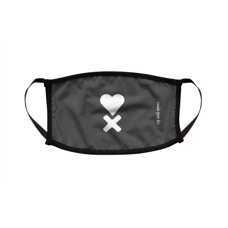 HEART X CAMO ONE Accessories Face Mask by iamthepod's Artist Shop