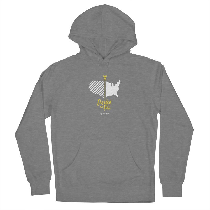 Divided We Fall Women's Pullover Hoody by iamthepod's Artist Shop
