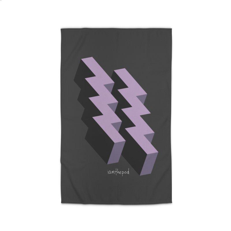 Isometric Lightning Home Rug by iamthepod's Artist Shop