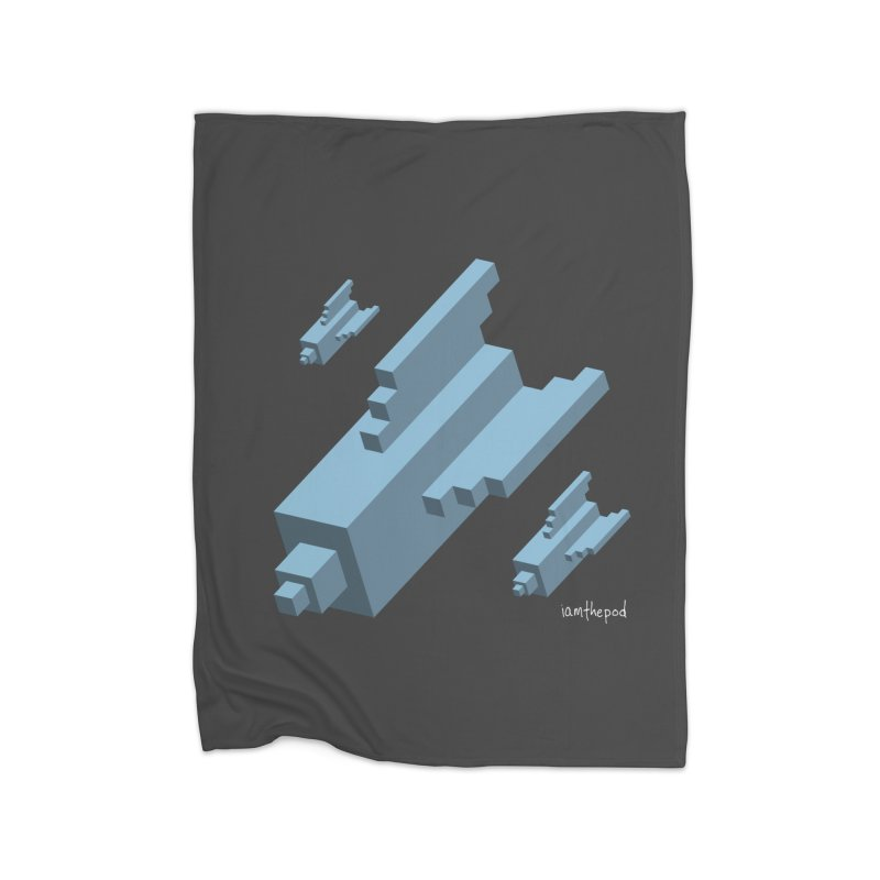 The Bomb Home Blanket by iamthepod's Artist Shop