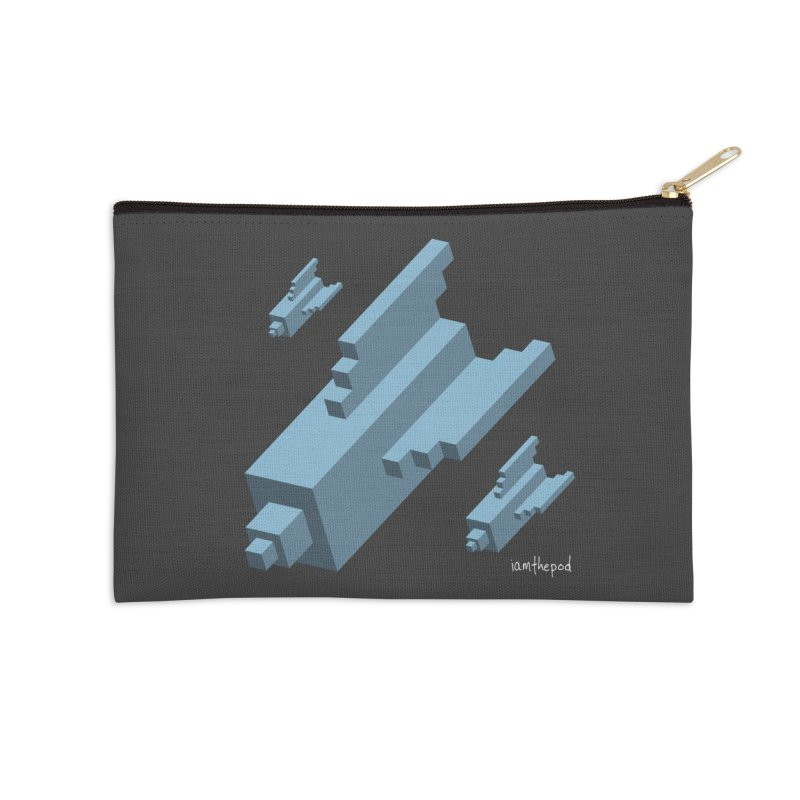 The Bomb Accessories Zip Pouch by iamthepod's Artist Shop