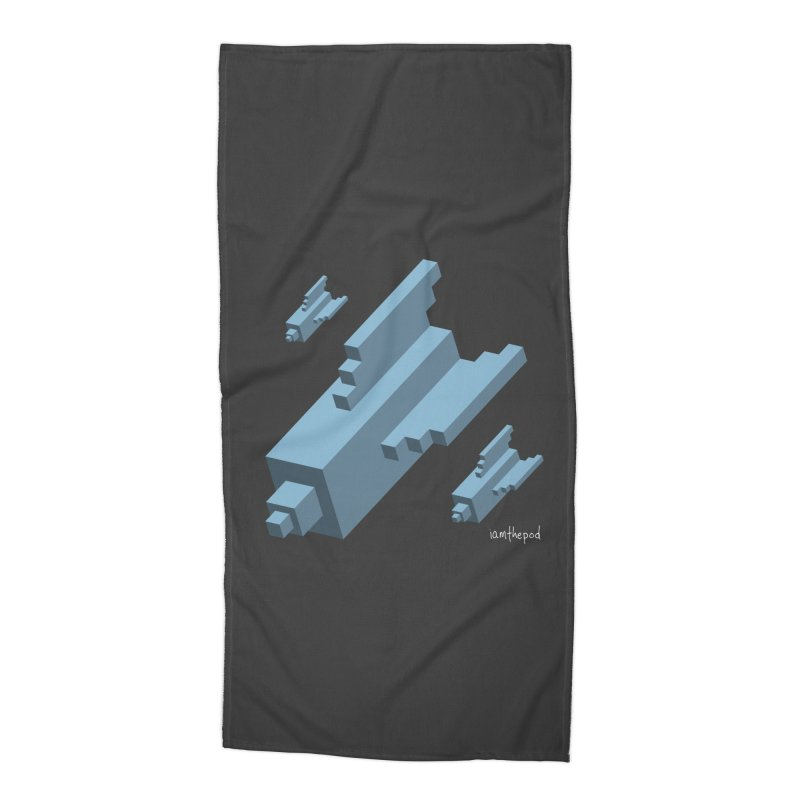 The Bomb Accessories Beach Towel by iamthepod's Artist Shop