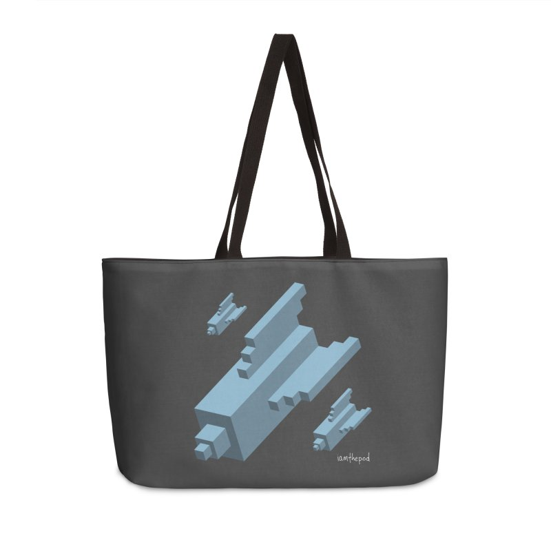 The Bomb Accessories Weekender Bag Bag by iamthepod's Artist Shop