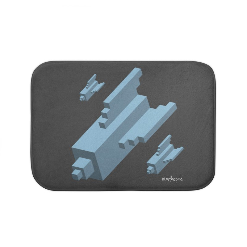 The Bomb Home Bath Mat by iamthepod's Artist Shop