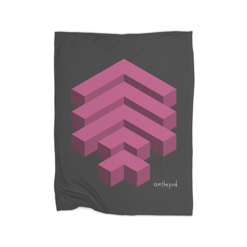 Isometric Arrows Home Blanket by iamthepod's Artist Shop