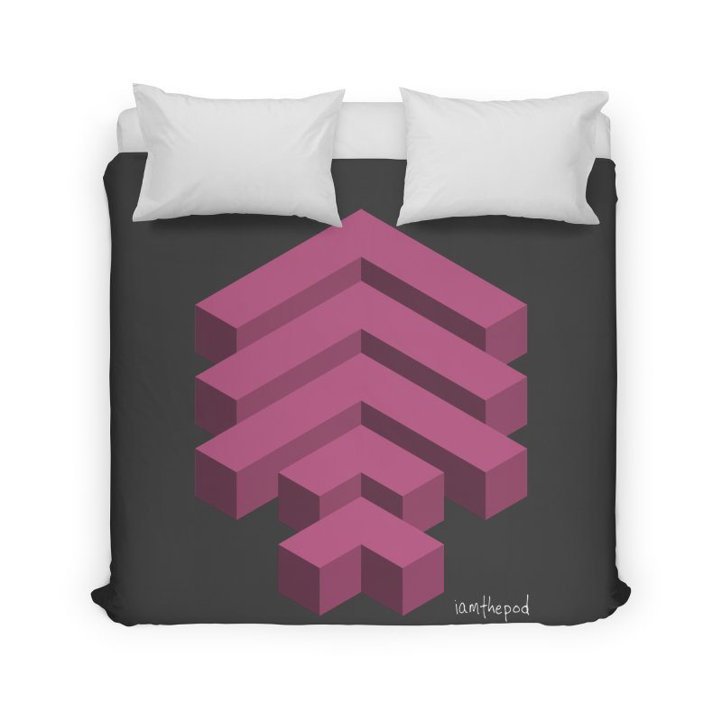 Isometric Arrows Home Duvet by iamthepod's Artist Shop