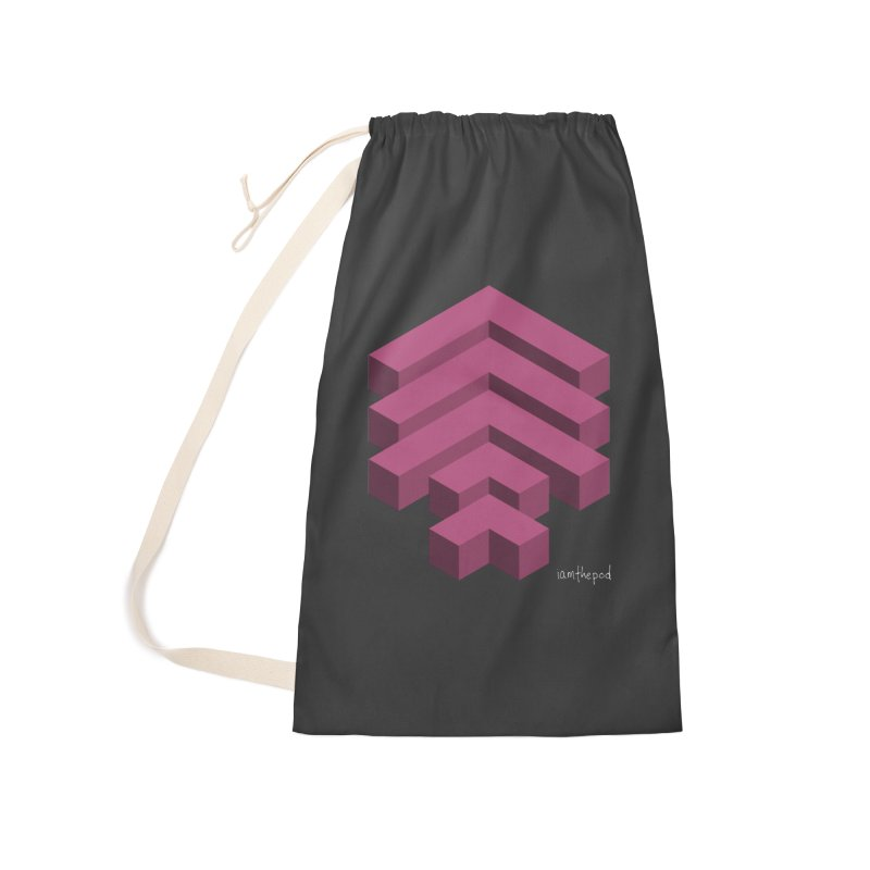 Isometric Arrows Accessories Laundry Bag Bag by iamthepod's Artist Shop