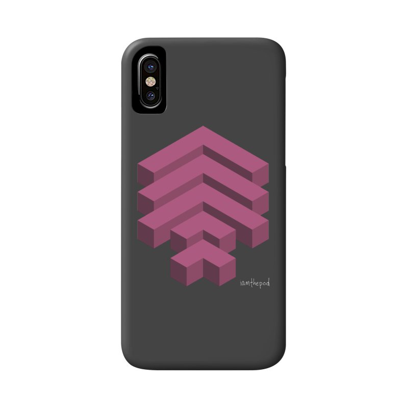 Isometric Arrows Accessories Phone Case by iamthepod's Artist Shop