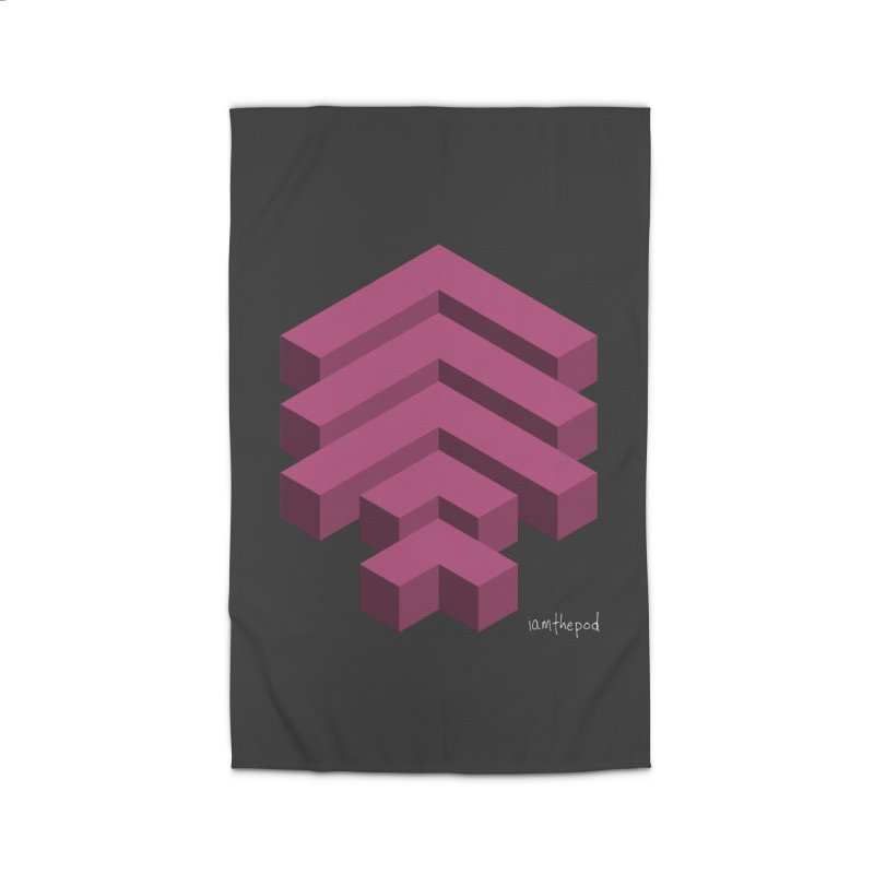 Isometric Arrows Home Rug by iamthepod's Artist Shop