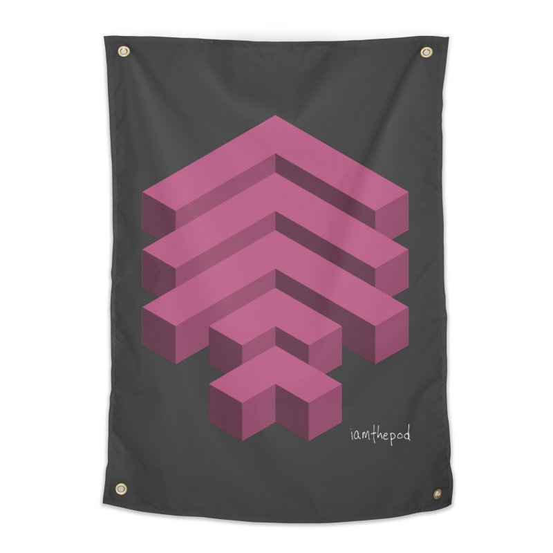 Isometric Arrows Home Tapestry by iamthepod's Artist Shop