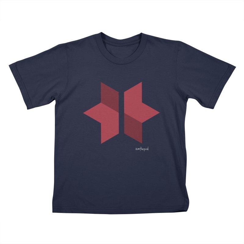 The Star Divided Kids T-Shirt by iamthepod's Artist Shop