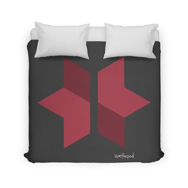 The Star Divided Home Duvet by iamthepod's Artist Shop