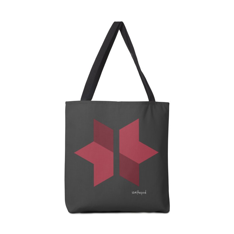 The Star Divided Accessories Tote Bag Bag by iamthepod's Artist Shop