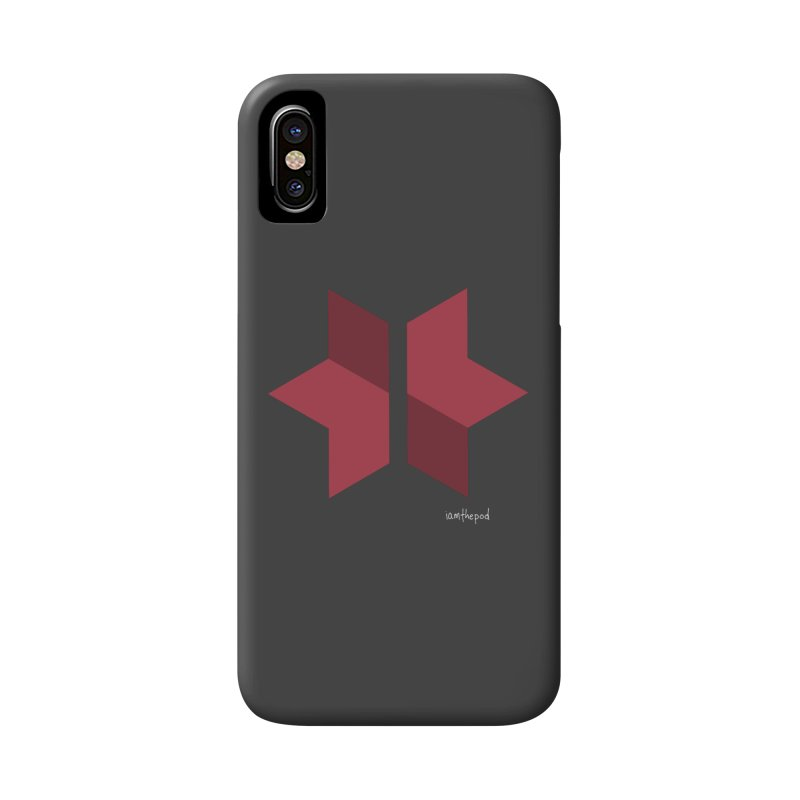 The Star Divided Accessories Phone Case by iamthepod's Artist Shop