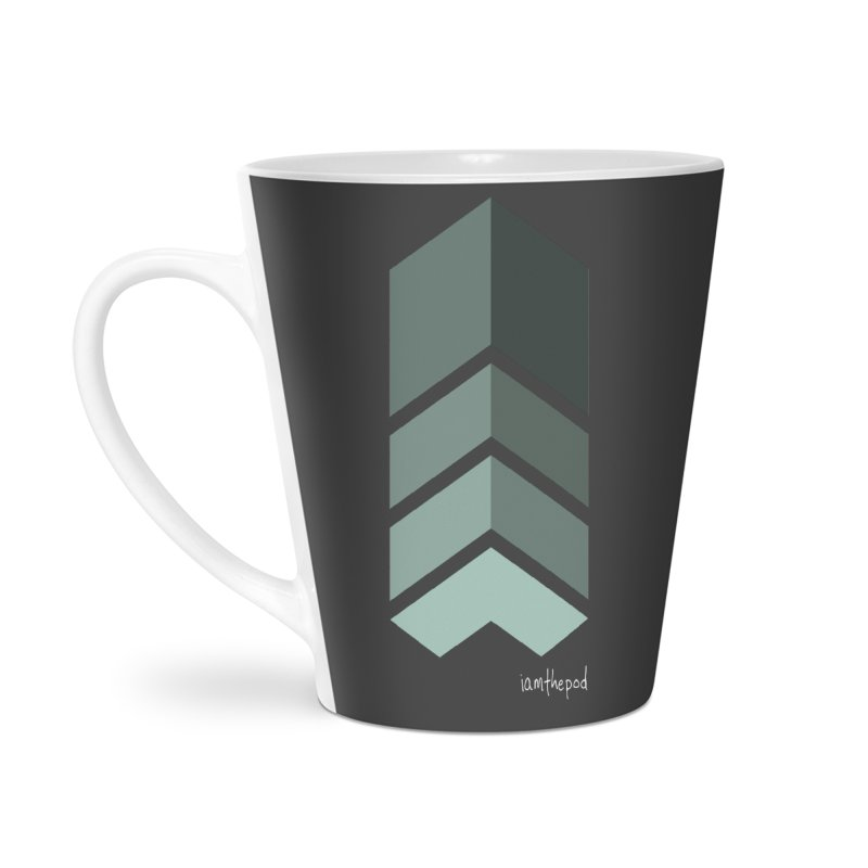 The Monolith Accessories Latte Mug by iamthepod's Artist Shop
