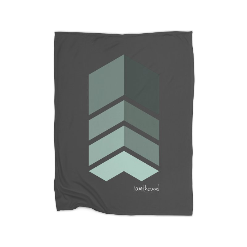 The Monolith Home Blanket by iamthepod's Artist Shop