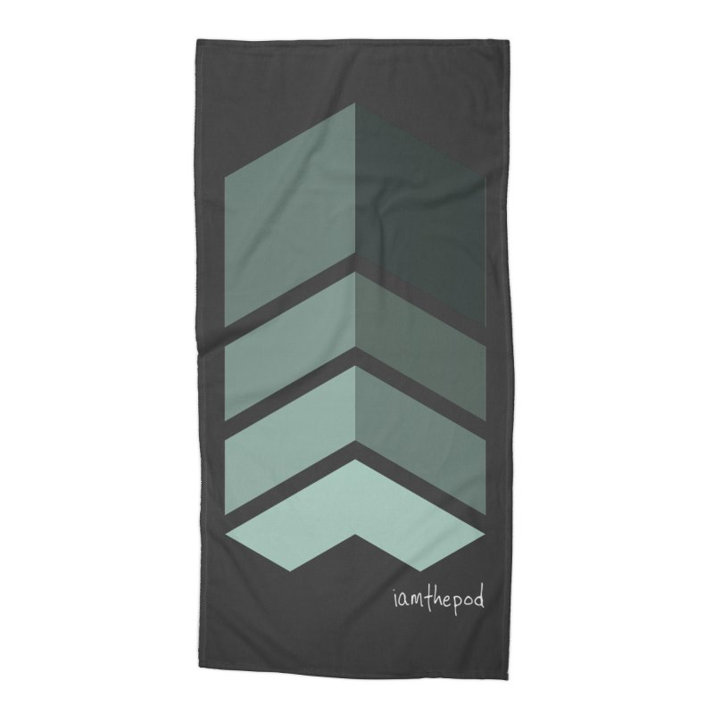 The Monolith Accessories Beach Towel by iamthepod's Artist Shop